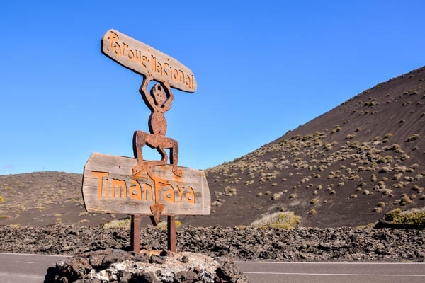Timanfaya National Park in Lanzarote