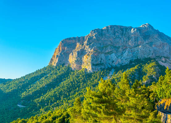 Tramuntana Mountains in Majorca, Balearic Islands
